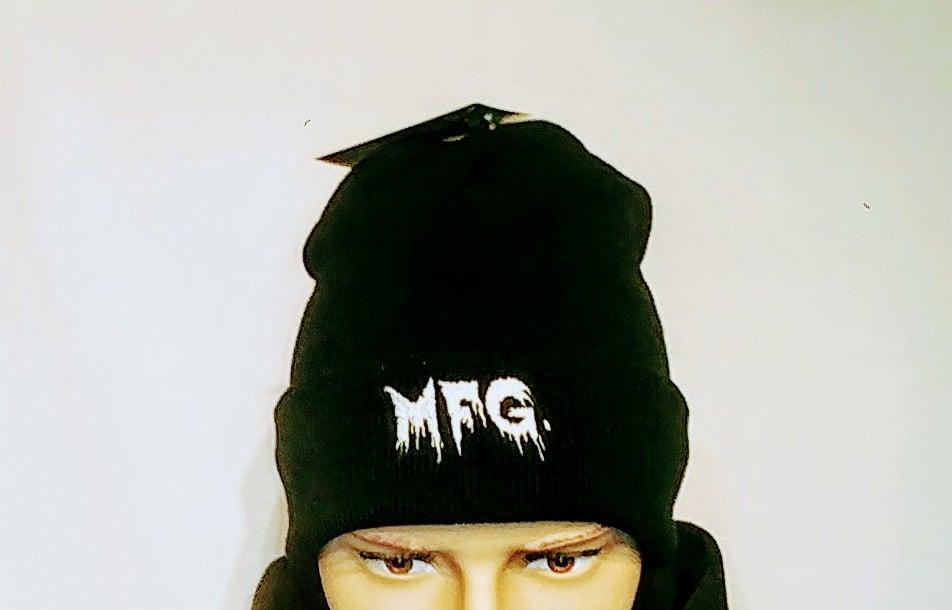 Image of Black Metal Mfg. Logo Beanies