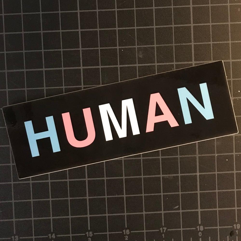 Image of HUMAN Sticker