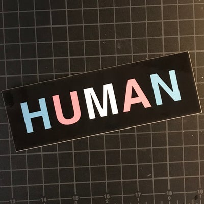 Image of HUMAN Sticker