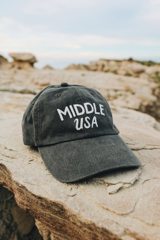 Image of Hat | Middle USA Charcoal