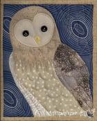 Image of Barn Owl Quilt, Nocturne