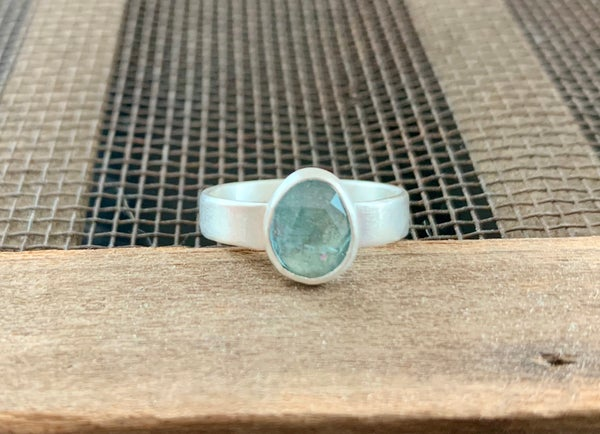 Image of Ocean Blue Aquamarine Ring