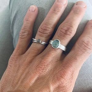 Image of Ocean Blue Aquamarine Ring