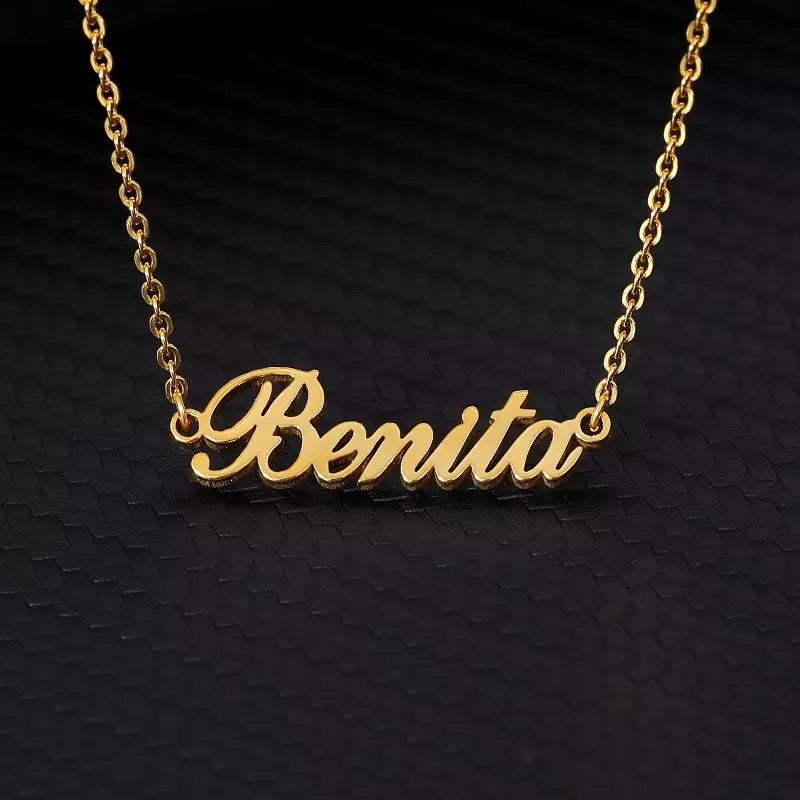 Image of Custom Classic Name Necklace