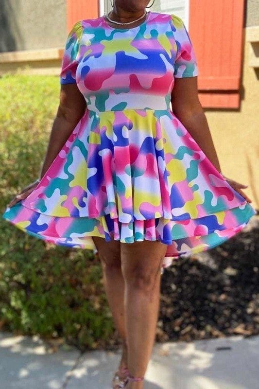 Image of Austism Speaks! Knee length dress (Available 6/22/20)