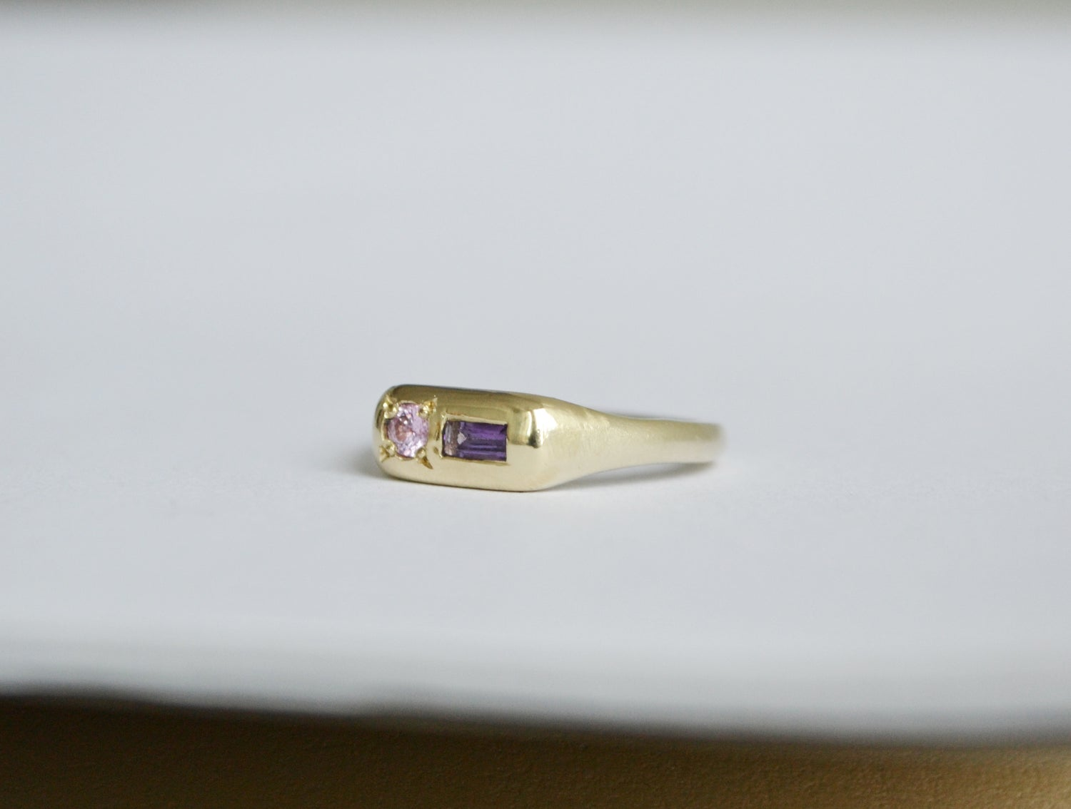 Image of Purple Pill ring