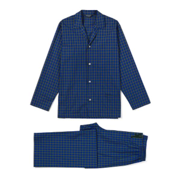 Image of Bonsoir Mens Cotton Pajamas