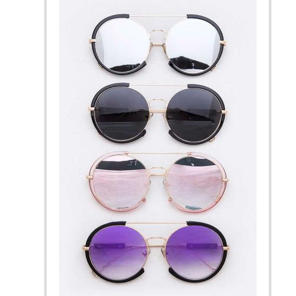 Image of My Round Oversized Sunglasses