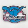 Tranosaurus Enamel Pin