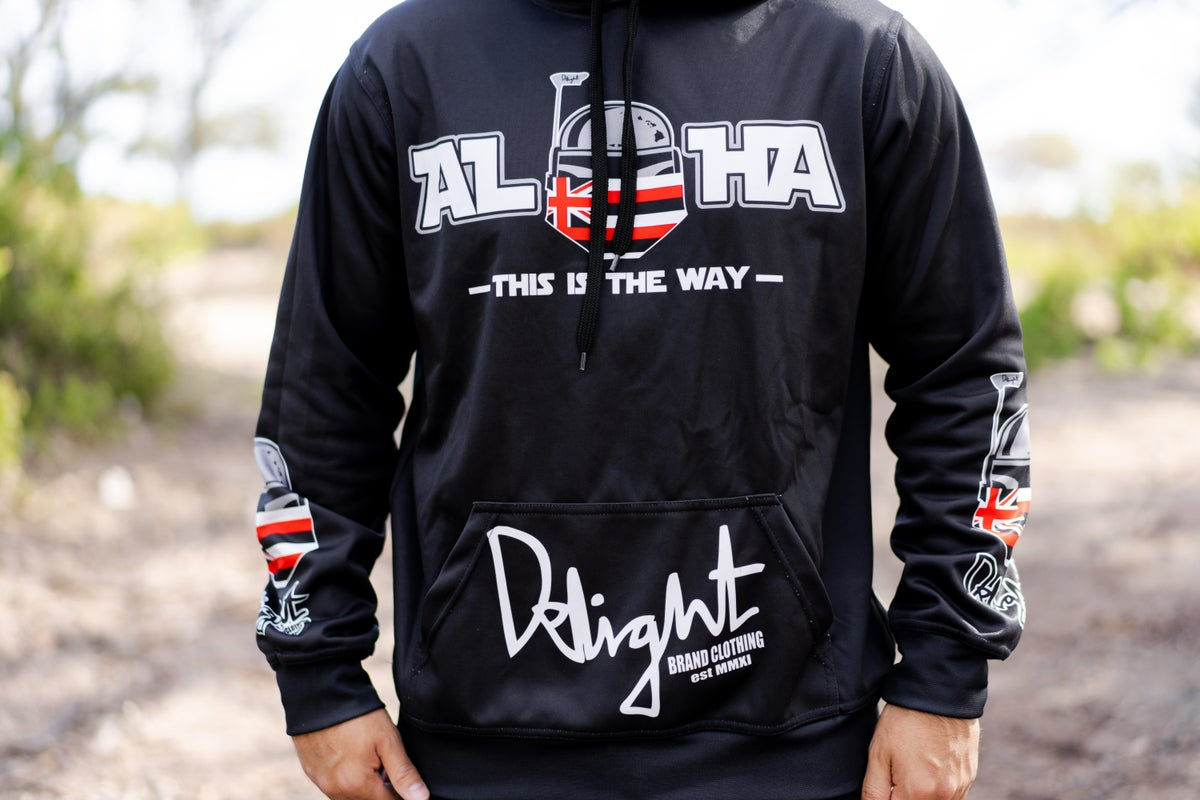 Aloha - This is the way Sublimation Hoodie