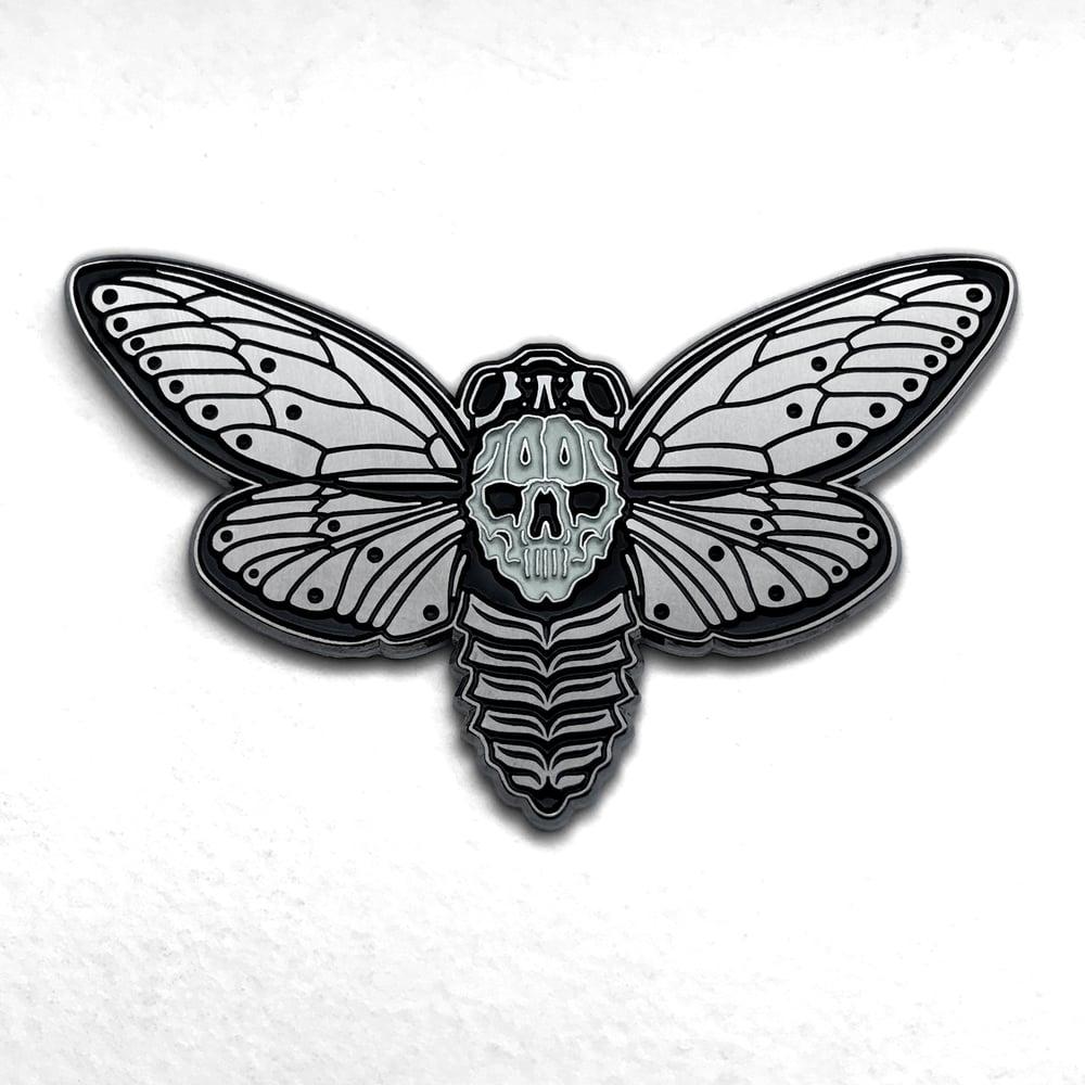 Image of Death's-Head Cicada II Pin