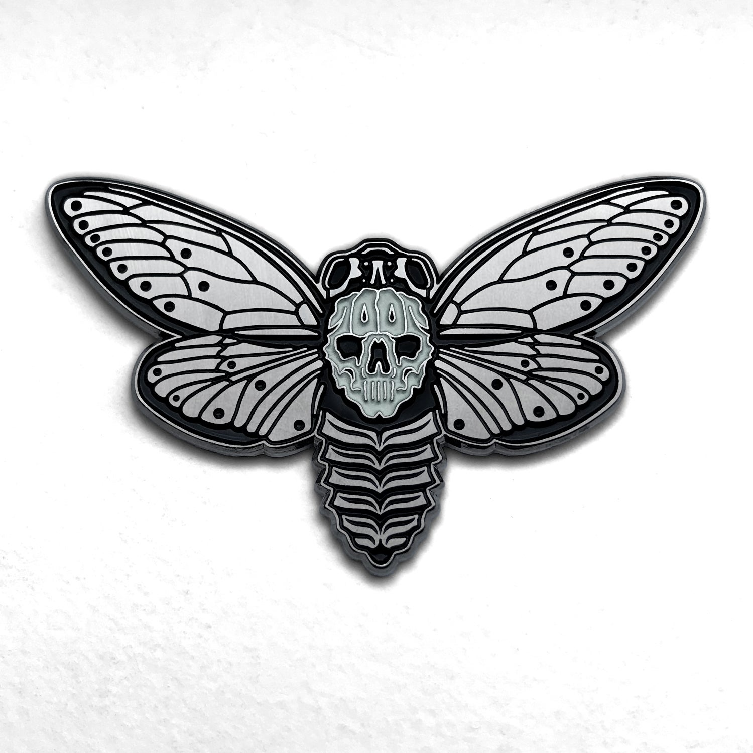 Image of Death's-Head Cicada II Pin