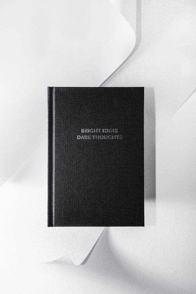 Image of Bright ideas Dark thoughts notebook