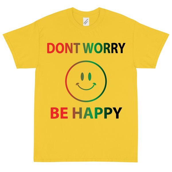 Image of Don't Worry, Be Happy 😊 Yellow Gold