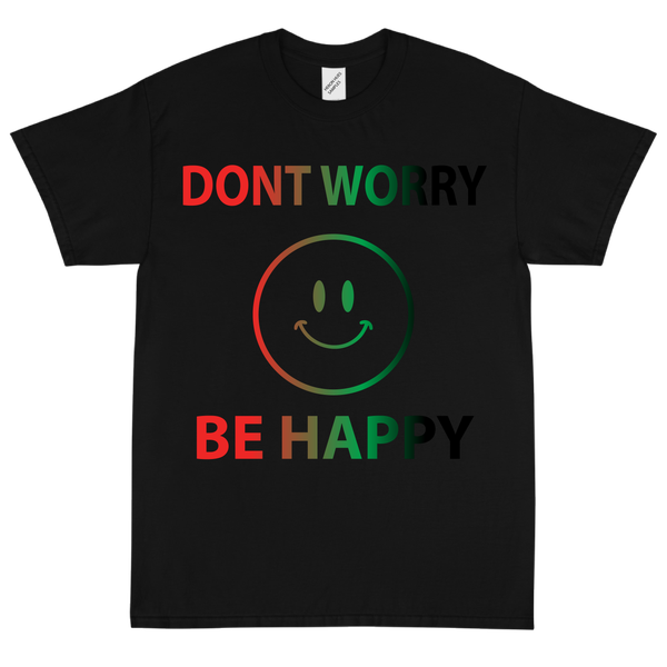 Image of Don't Worry, Be Happy 😊  Black