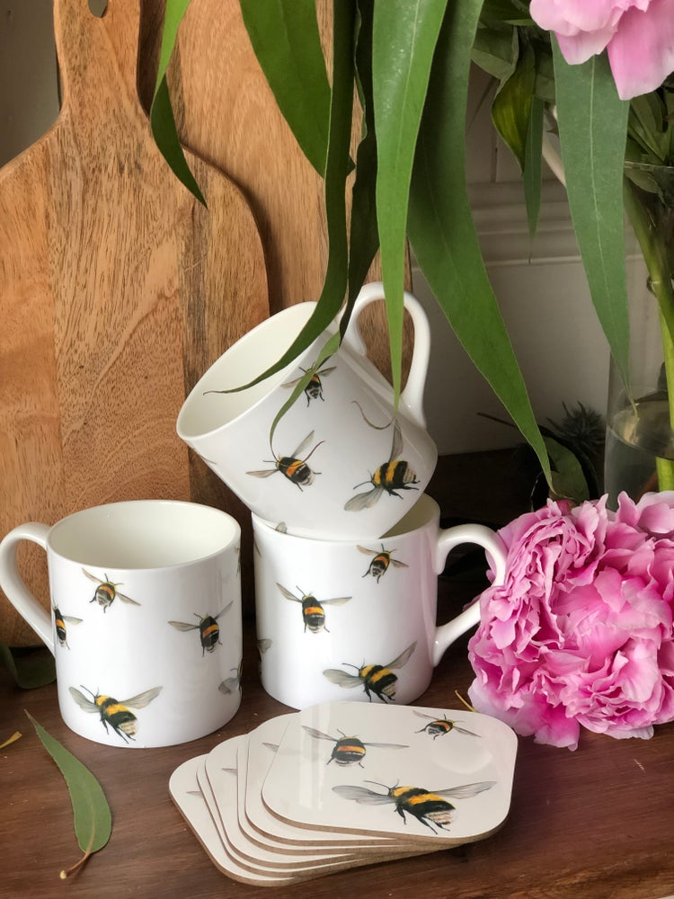 Image of 'Bumble Bees' Mug
