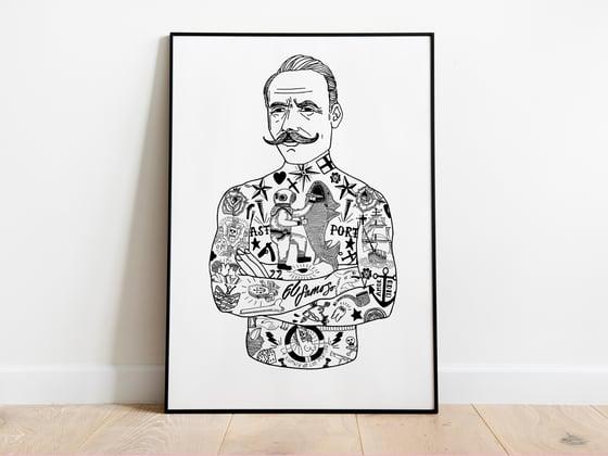 Image of The Gentleman A3 Art Print