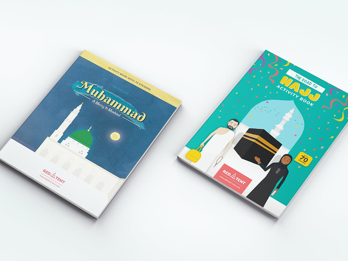 Image of Muhammad & Hajj Activity Books Bundle