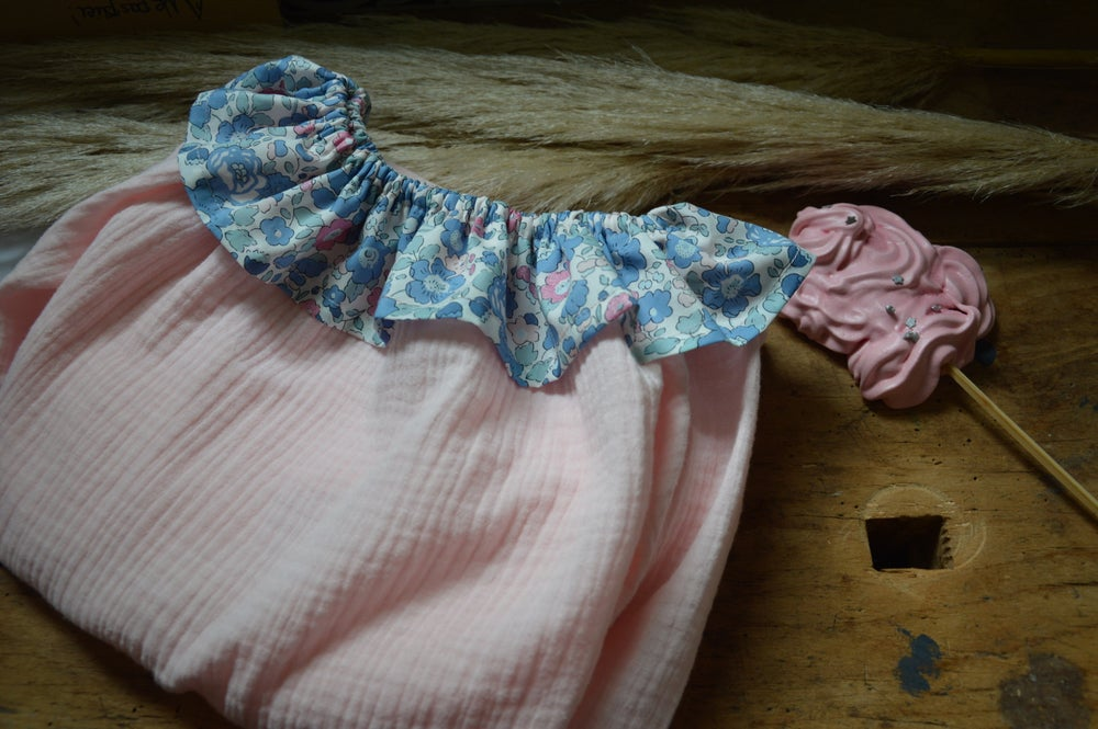 Image of chemise de nuit betsy asagao pailettes