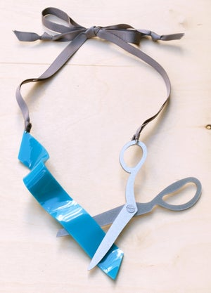 Image of Scissors Necklace (Small)
