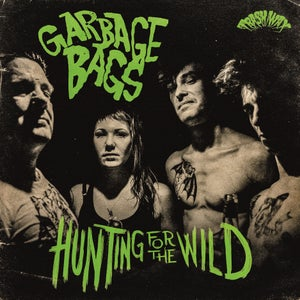 Image of LP. The Garbage Bags : Hunting For The Wild.    Ltd Edition.