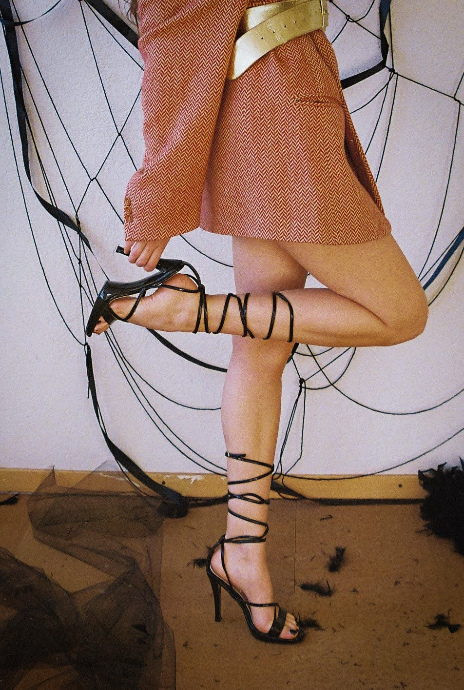 Image of Lace-up Heels