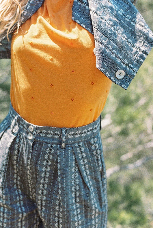Image of Pantalon LEANDRE JACQUARD 135€ -30%