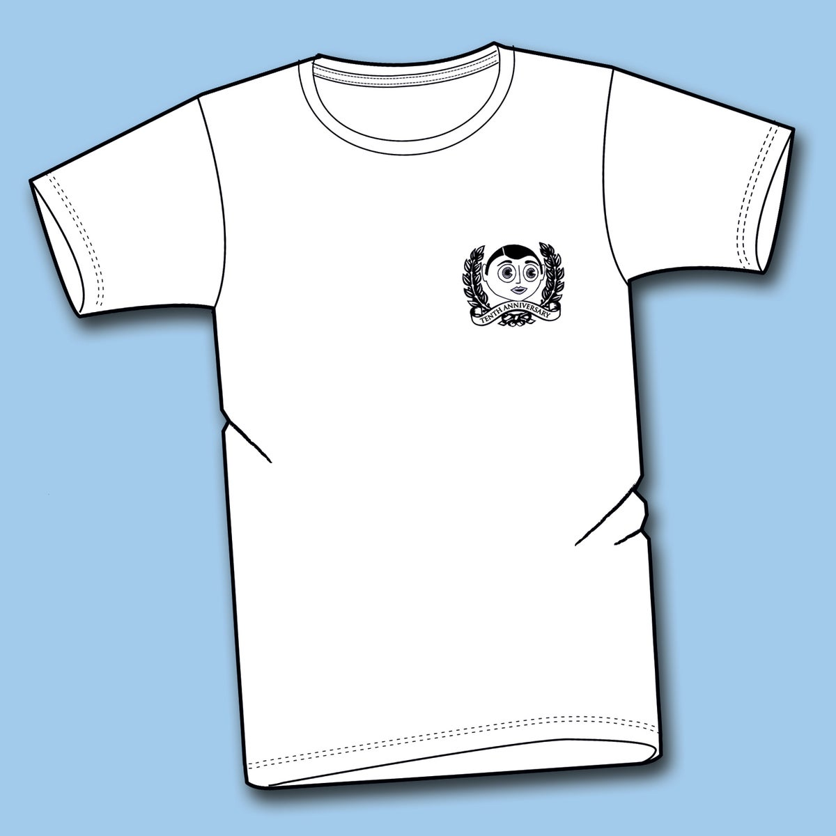 Image of Tenth Anniversary T-shirt (Back-print)
