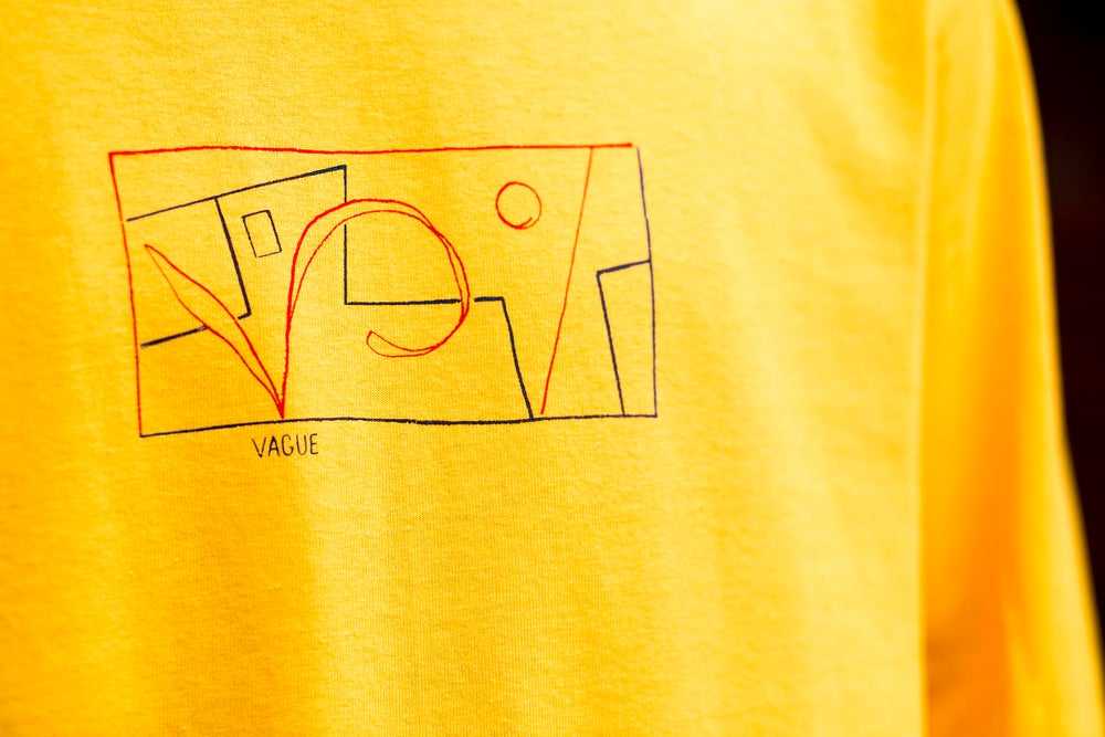 Image of Vague x Daniel Clarke T-shirt