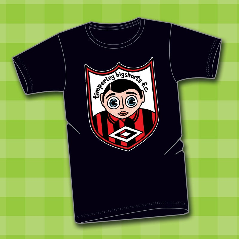 Image of 'Deluxe' Timperley Bigshorts squad t-shirt