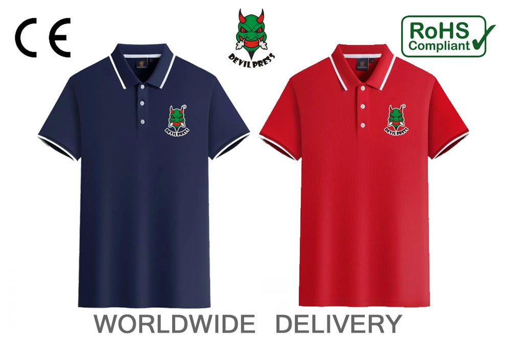 Image of DEVILPRESS™    POLO SHIRT