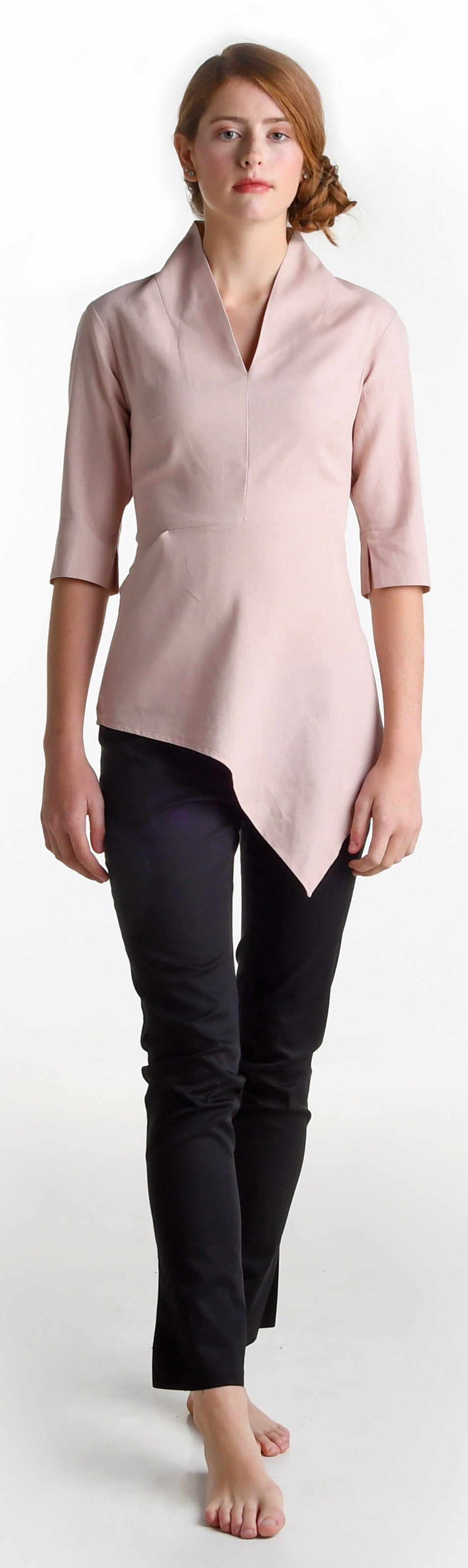 Image of Elmira Cromwell top in blush