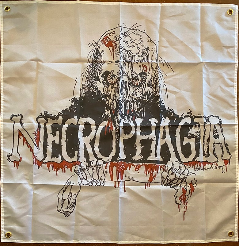 Image of Necrophagia - Banner / Tapestry / Flag