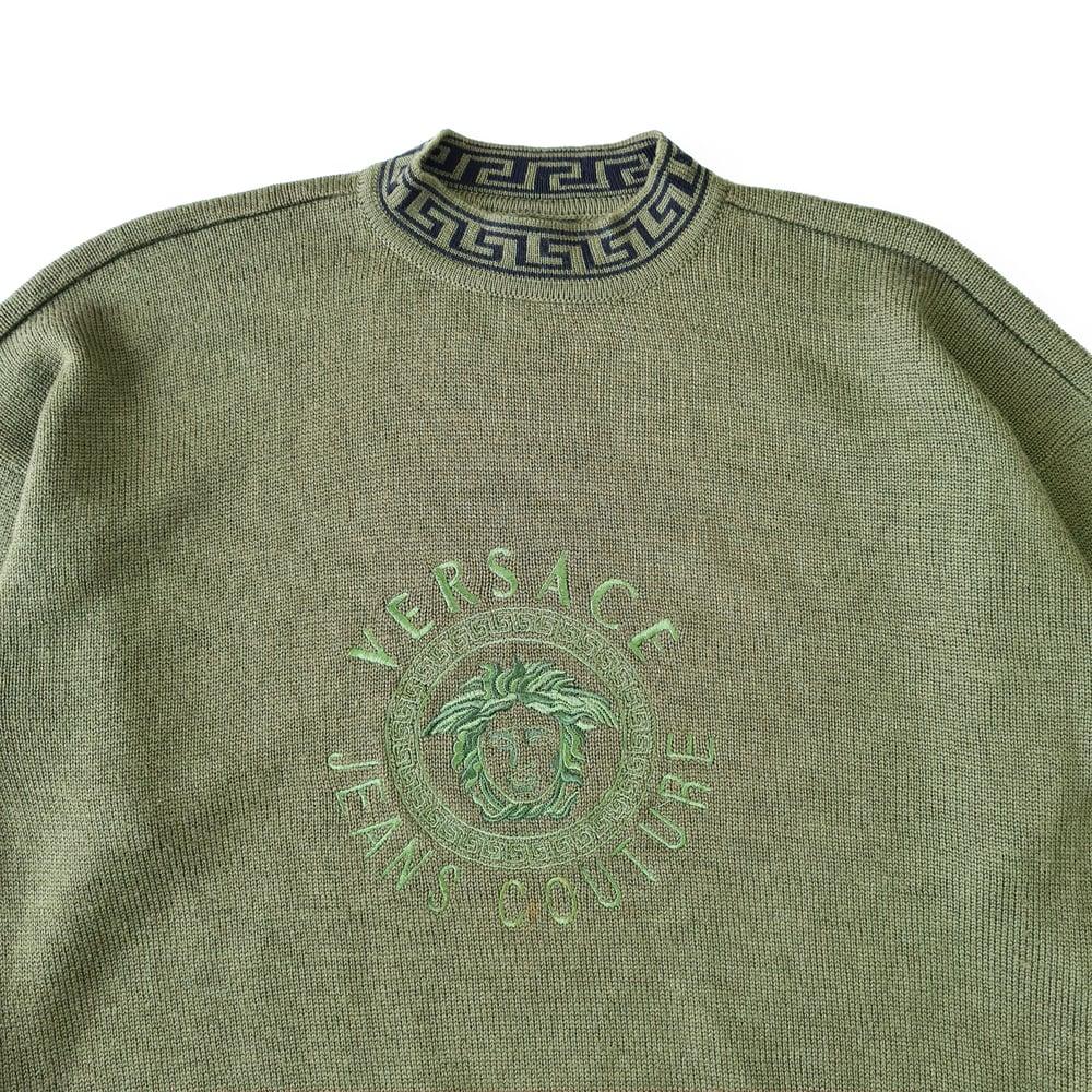 Image of Versace Jeans Couture Medusa Logo Jumper