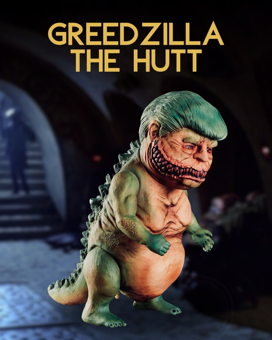 Image of Greedzilla The Hutt