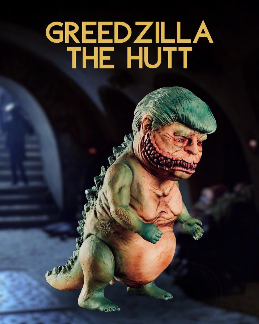 Image of Greedzilla The Hutt