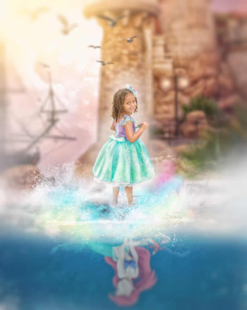 Image of Mermaid Reflection Series