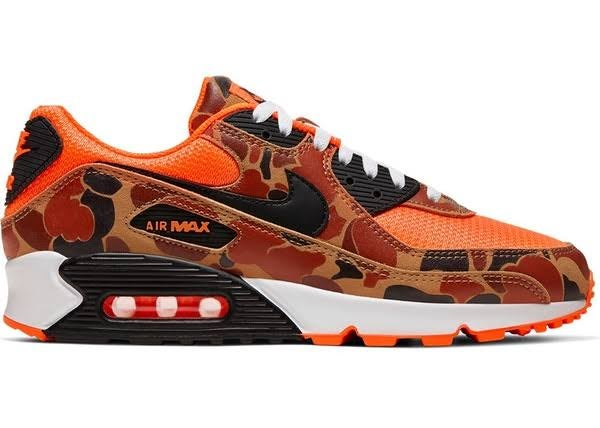 "Image of  Nike Air Max 90 ""Orange Duck Camo"""