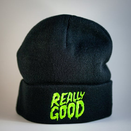 Image of Really Good Toque - Beenie  Black