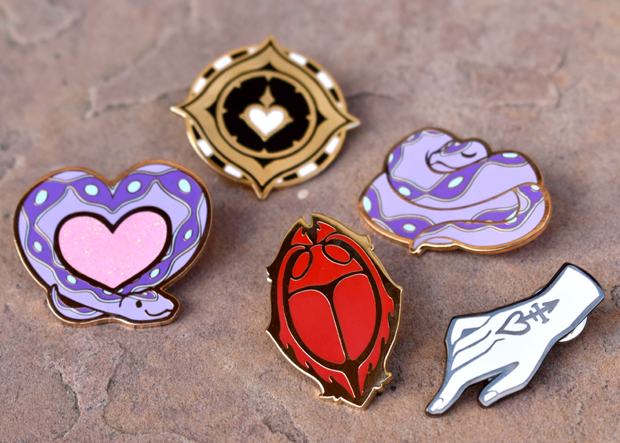 Image of The Arcana ✦ Enamel Pins