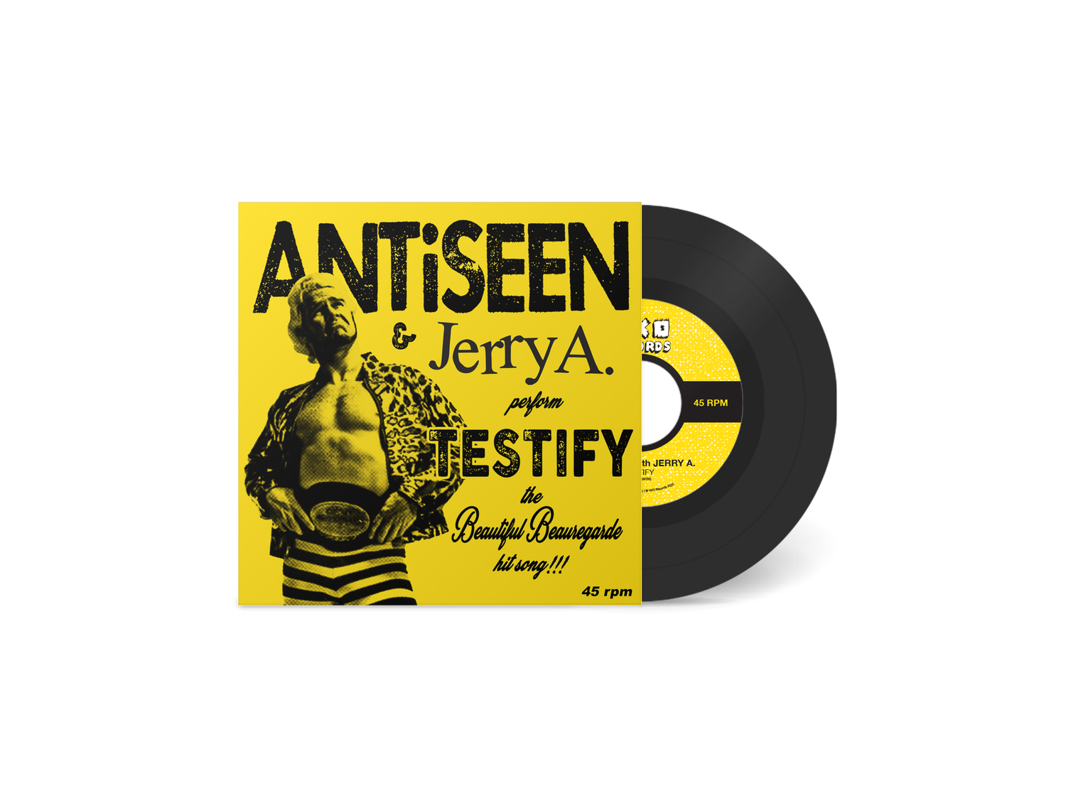 "Image of ANTiSEEN & JERRY A - ""Testify"" 7"" Single"