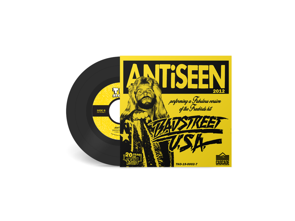 "ANTiSEEN & JERRY A - ""Testify"" 7"" Single"