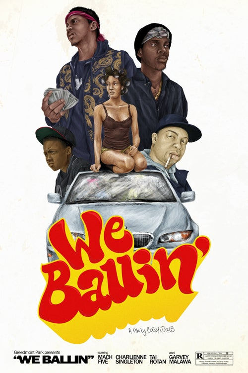 "Image of ""We Ballin & J is for Junkie"" Double Feature DVD"