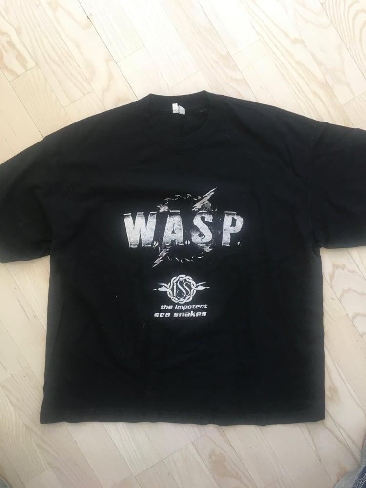 Image of Motorhead/W.A.S.P original shirt w/poster