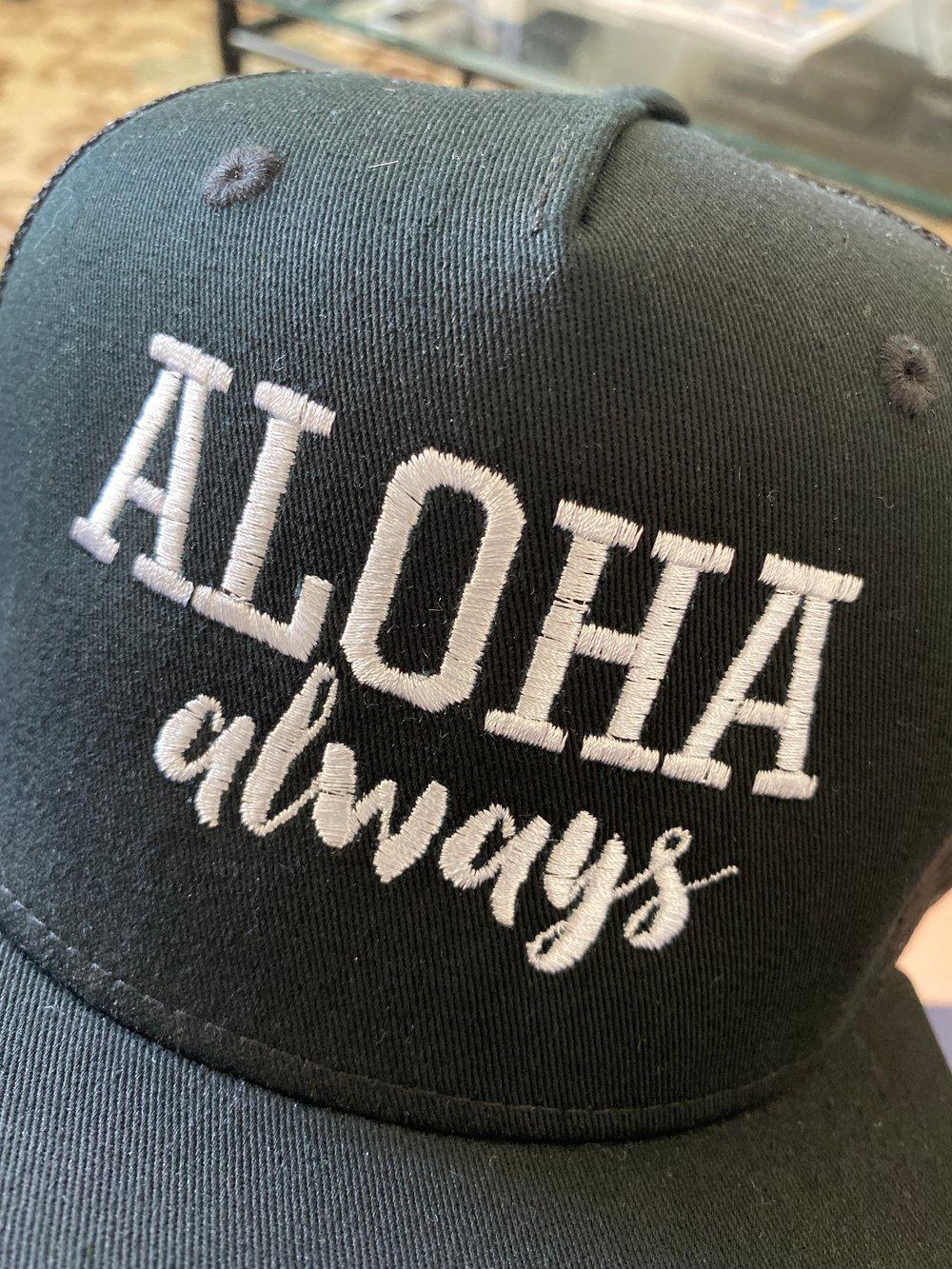 Image of Aloha Always Snapback (EMBROIDERED)
