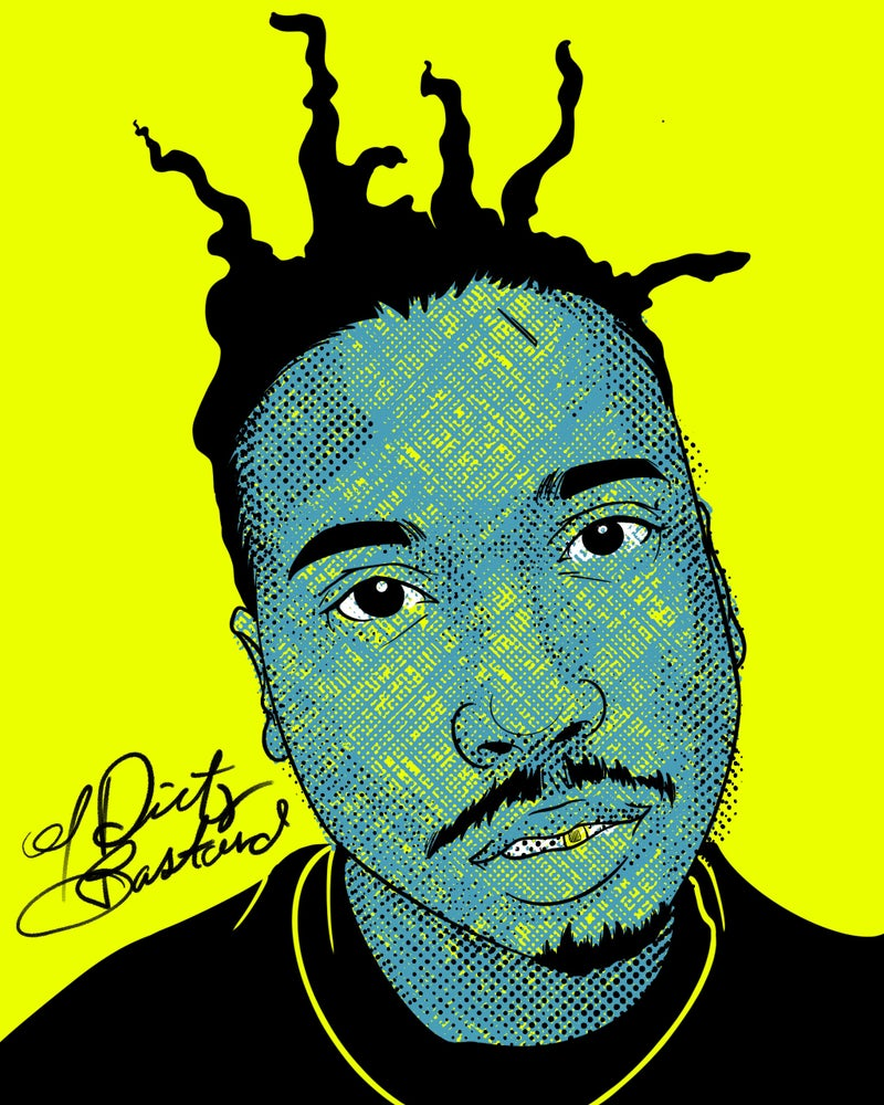 """Image of """"Sammie's Wall of Fame: ODB"""" 8x10 inch Print"""