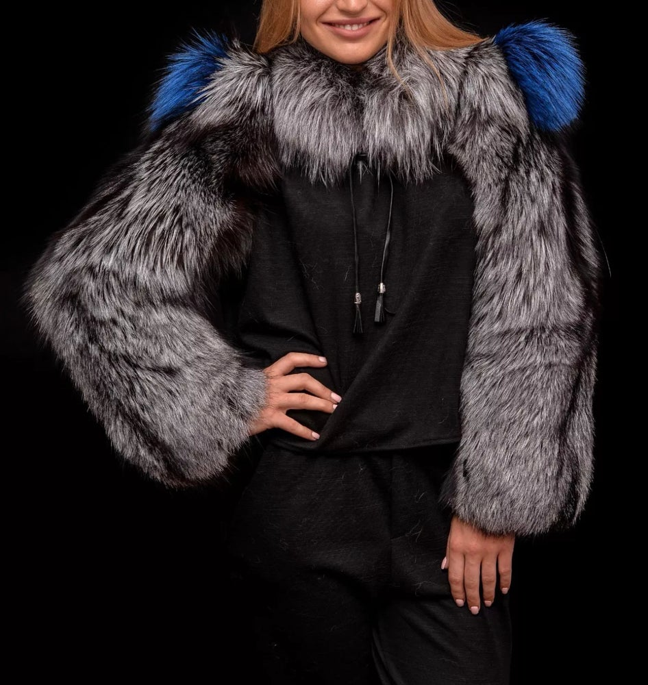 Image of Fox Fur Double Sleeve