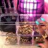 'See Thru' 6-compartment Acrylic Jewelry/Beauty Organizer