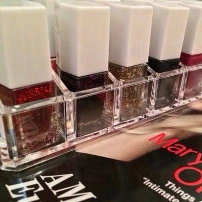 'See Thru' Acrylic Lacquer/Lipstick Organizer