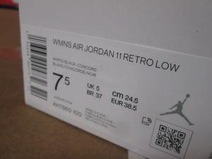 "Image of Air Jordan XI (11) Retro Low ""Concord Purple"" WMNS"